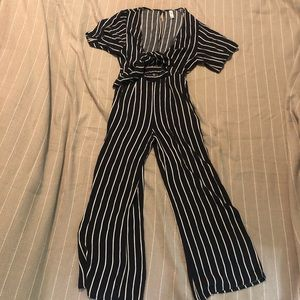 Mahina striped jumpsuit